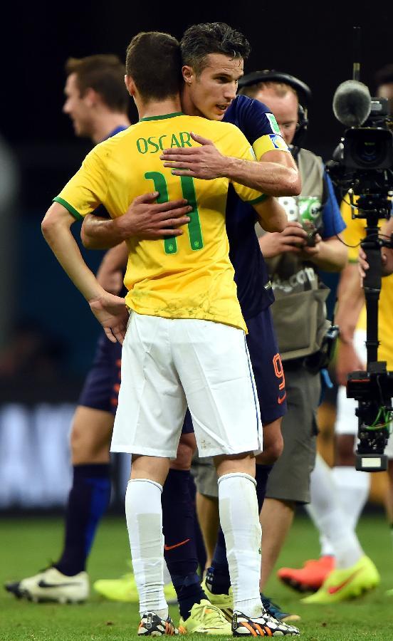 (世界杯)(14)足球——荷兰队获得季军