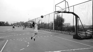 安姑娘是个篮球爱好者 本人供图
