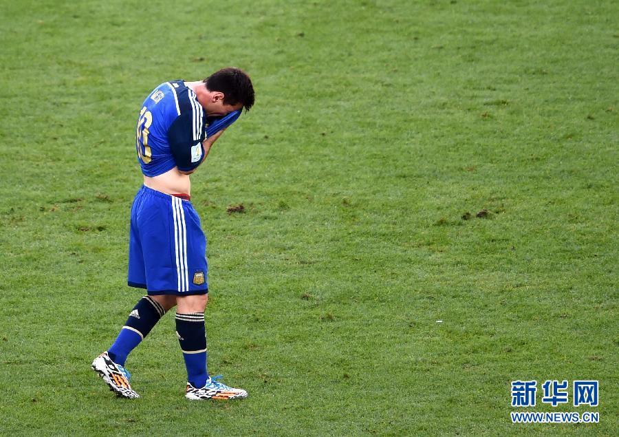 梅西无缘大力神杯 阿根廷请别为我哭泣