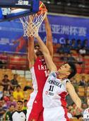 图文:男篮亚洲杯伊朗胜印尼  卡兹米上篮得手