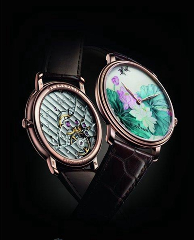 Blancpain宝珀大马士革工艺腕表