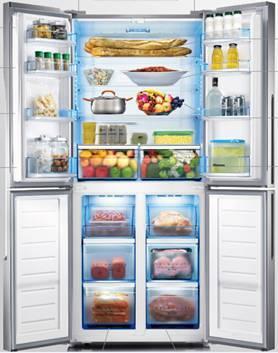 海信十字对开门冰箱获2014年度最受欢迎产品奖