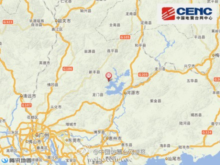 四川凉山州木里县发生3.1级地震 震源深度15千米(图)图片