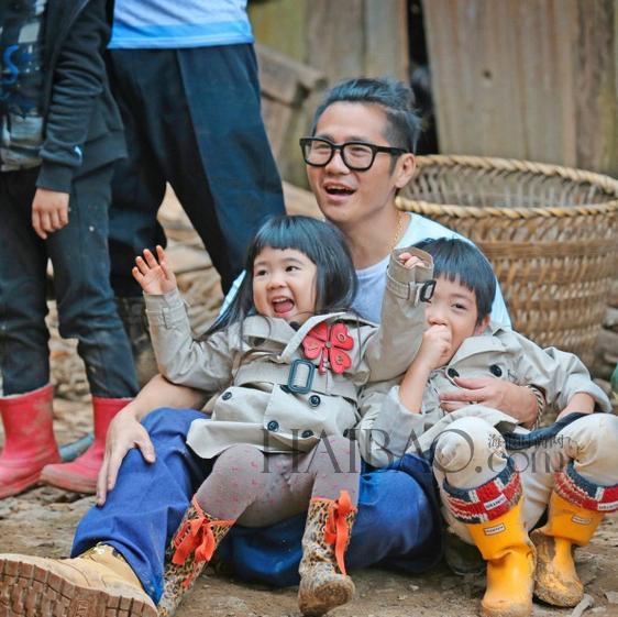 图片来自《爸爸去哪儿》官方微博