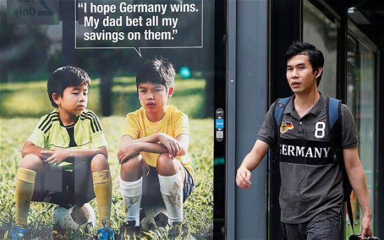 哭笑不得 德国夺冠令反赌球公益广告沦为笑柄