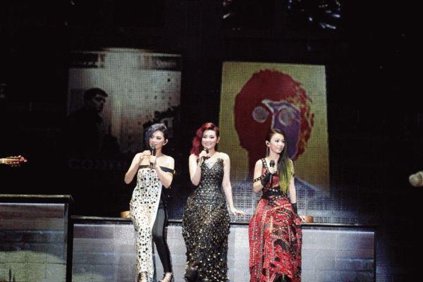 2014S.H.E演唱会台北场现场