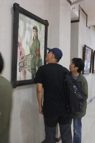 中国梦·西部情王秀章油画作品邀请展