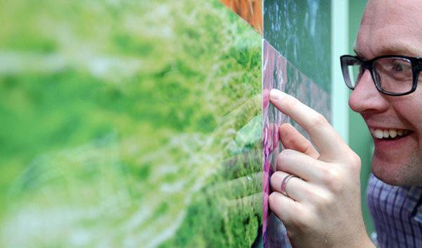 托马斯每天的工作:盯着油漆变干。