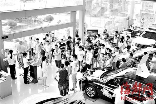 七月,莆田4S店活动不断,攒足人气