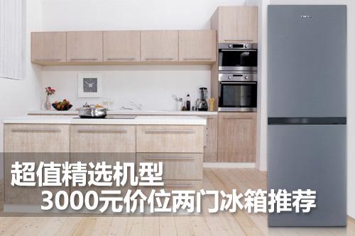超值精选机型 3000元价位两门冰箱推荐