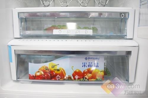 冬天也无霜!美菱雅典娜310WPC三门冰箱
