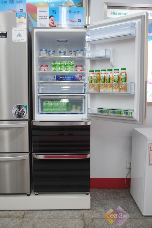 360度保鲜科技 海信286WGVBP冰箱热销