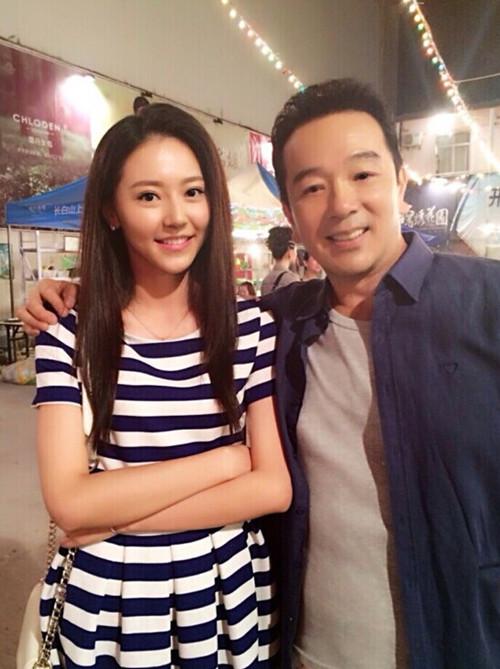 黄梦莹与张晨光合作新戏《亮色人生》