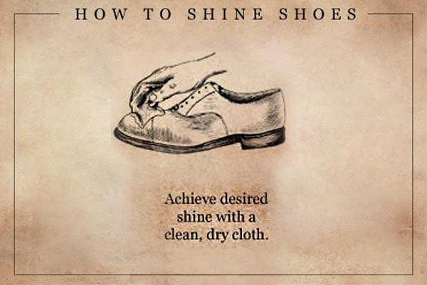 护理皮鞋的方法
