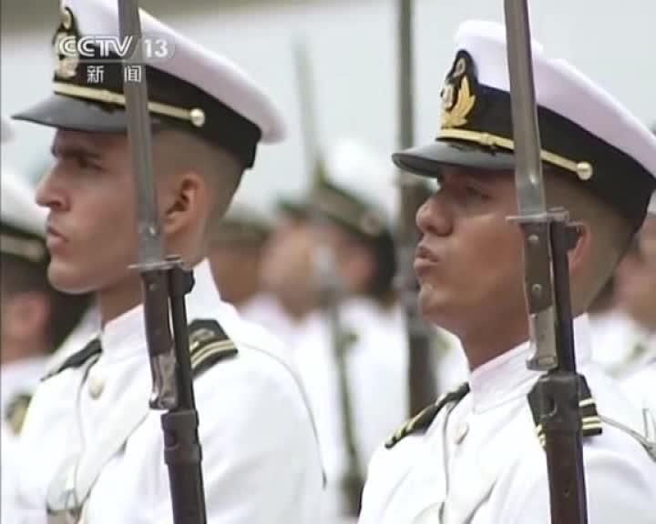 委内瑞拉军乐队演奏的中国国歌 - 搜狐视频