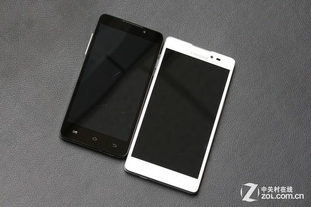 全网通4G手机酷派双棒T1对比酷派大神F1