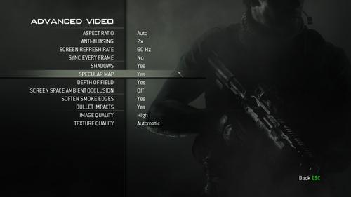 游戏画面设置