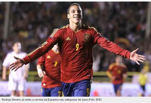 罗德里格曾为西班牙国青出场