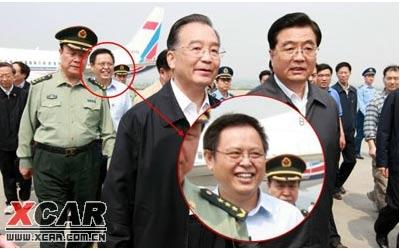 """资料图:汶川地震期间,谭力面带微笑被称""""谭笑笑"""""""