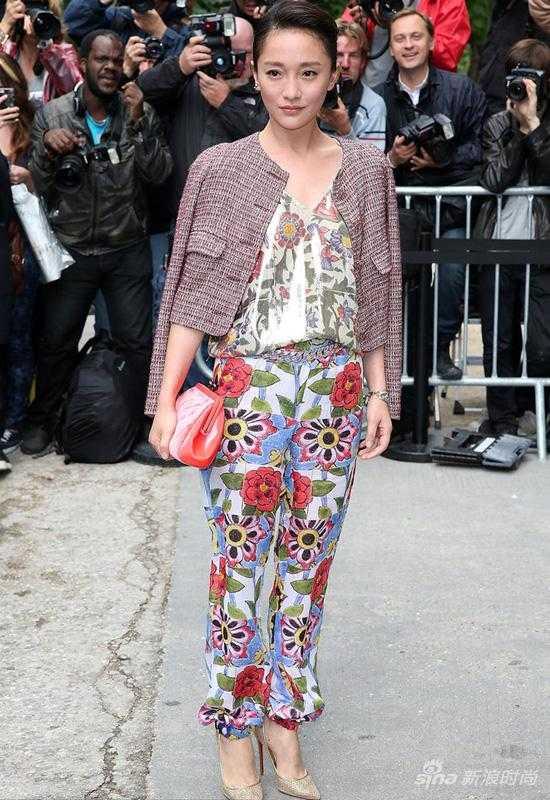 周迅:专属Chanel的时尚icon
