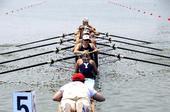 图文:国际名校赛艇挑战赛 耶鲁大学女子队