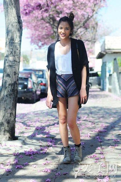 夏天穿短裤显腿瘦!4招速成搭让你也秀长腿