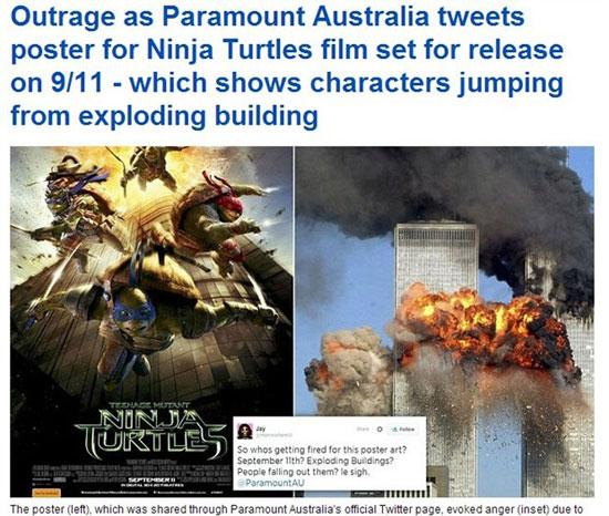 这种类似于摩天大楼惨状的景象似乎很容易勾起民众的回忆