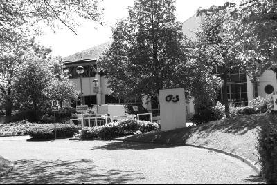 G4S公司总部很幽静。黄培昭摄