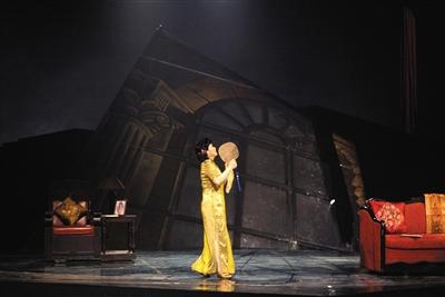 由上海歌剧院创作的歌剧《雷雨》。(资料图)