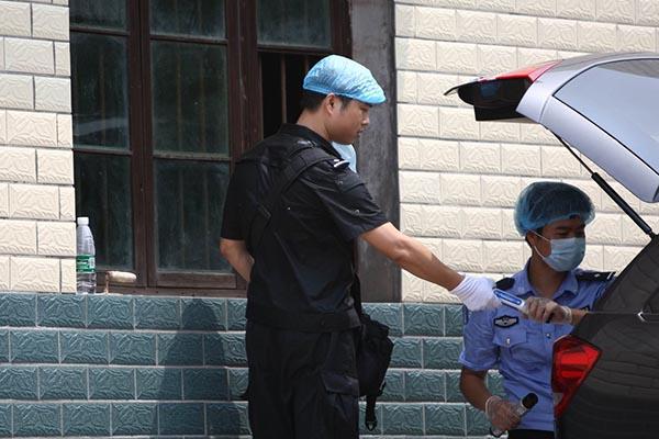 2014年8月1日,湖南株洲事发现场。 CFP 图