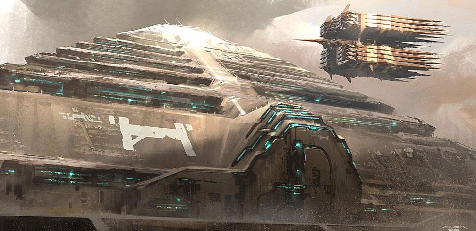 矿概念图 巨型机械宛如科幻片 高清组图图片