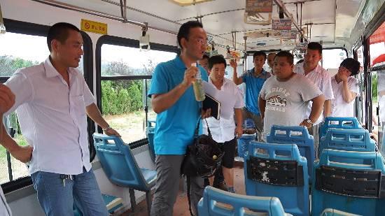 青岛开发区公交巴士开展应急演练