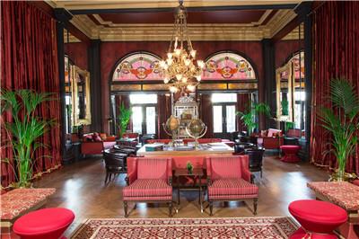 Pera Palace酒店-Kutuphaneli沙龙Pera Palace Hotel Jumeirah - Kutuphaneli Saloon