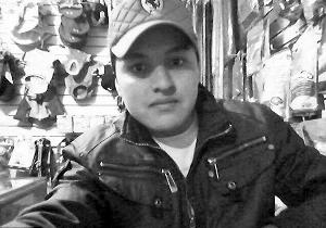 墨西哥男子奥斯卡・奥特罗・阿圭勒自拍成自杀
