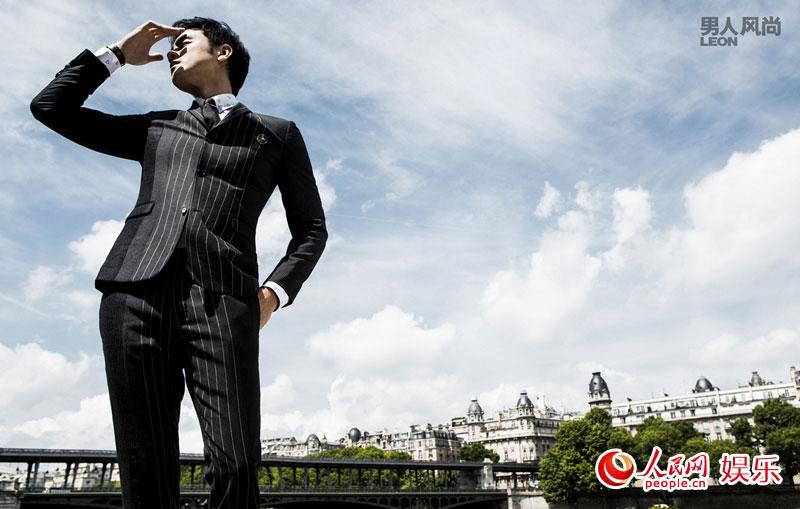 明道魅力风尚巴黎写真