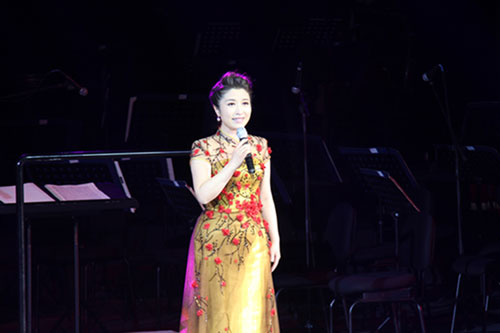 刘媛媛放歌《我的中国梦》