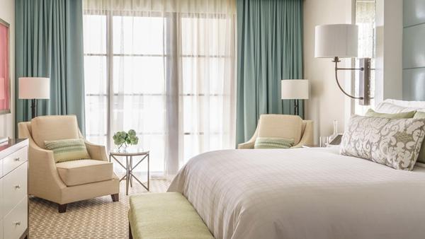 奥兰多迪士尼乐园四季度假酒店 乐园景观套房卧室