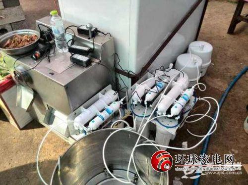 沁园捐助已到达鲁甸可极大解决饮水问题