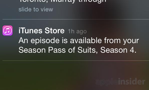 美剧控的福音 iOS 8新增追剧提醒功能
