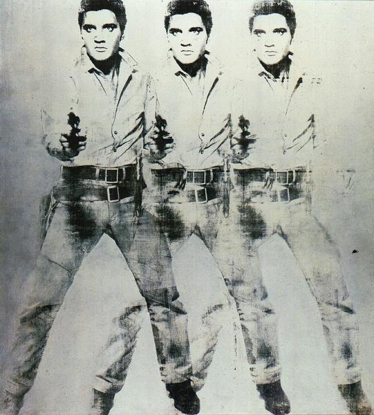 elvis sunglasses  triple elvis,1962