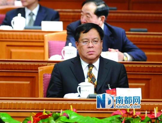 中央巡视办主任黎晓宏资料图片。