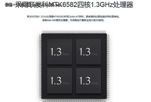 全新的4G版芯片