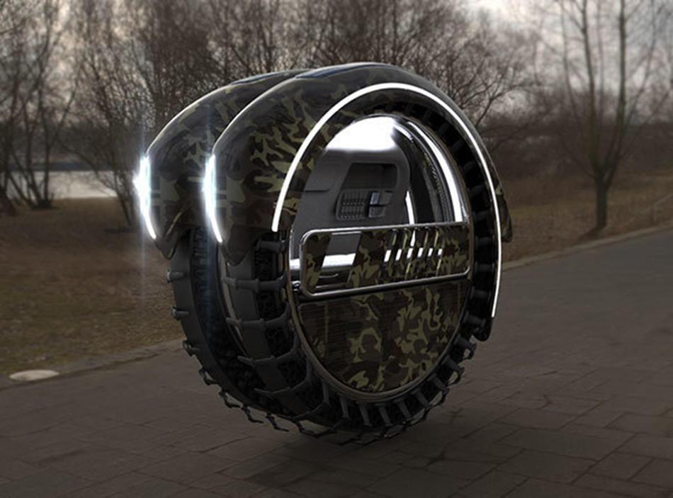 军事营救_突尼斯人设计轮胎形军事救援车高清组图