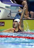 图文:女4X100米混接力中国队夺冠 庆祝胜利