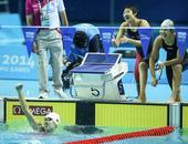 图文:女4X100米混接力中国队夺冠 微笑庆祝