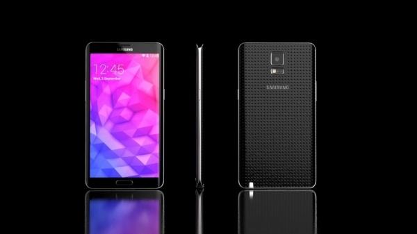 三星测试柔性屏版Galaxy Note 4:金属边框