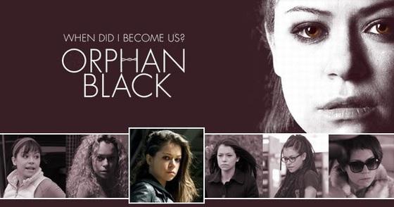 在《黑色孤儿》中,玛斯拉尼一人分饰七角