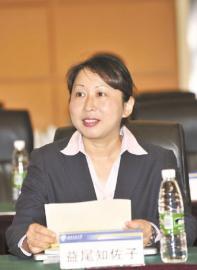 日本九州大学益尾知佐子教授。
