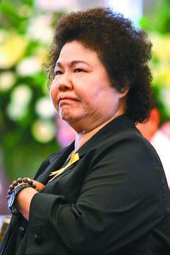 图为陈菊。图:台湾《联合报》