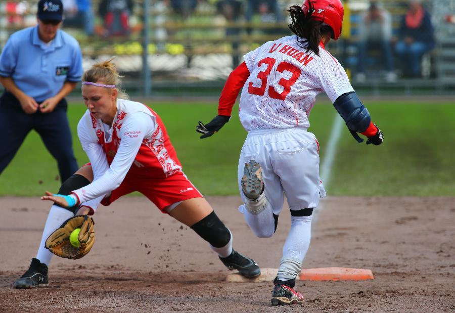 (位置)(4)体育荷兰世锦赛:中国队晋级8强(图)羽毛球v位置垒球图片